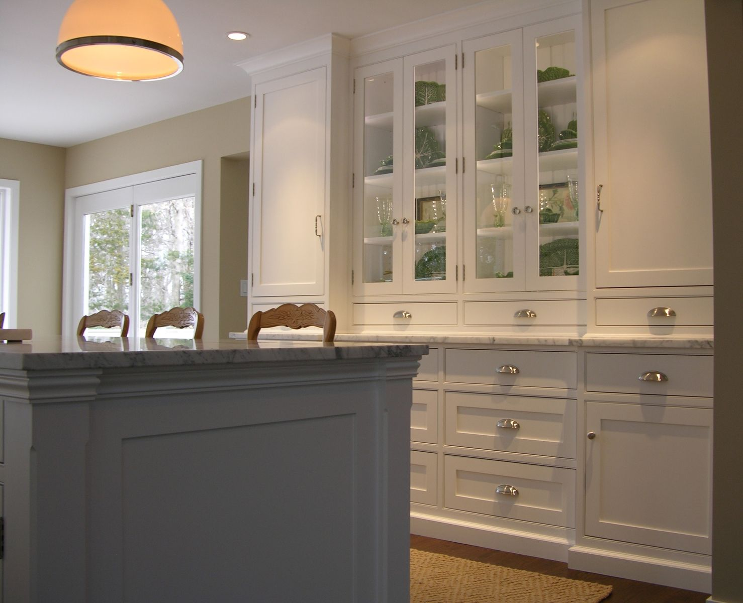 Custom Made Kitchen Doors Hand Crafted Classic White Kitchen By Norman Orsinger Woodworking