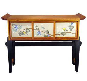 Custom Made Asian-Style Sideboard