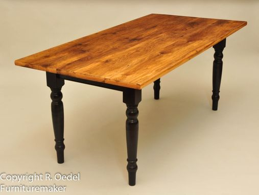 Custom Made Farmhouse Style Dining Room Table