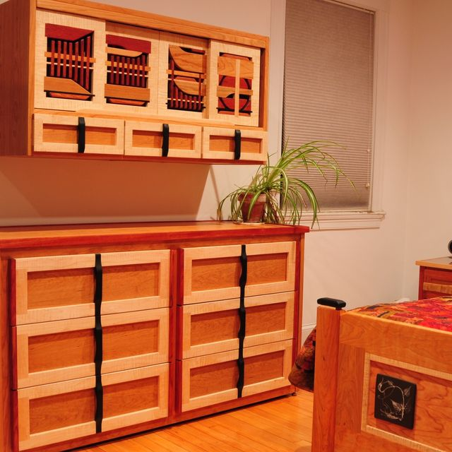 Custom Made Wall Mounted Dresser And Floor Dresser by Woodsongs    CustomMade com. Custom Made Wall Mounted Dresser And Floor Dresser by Woodsongs