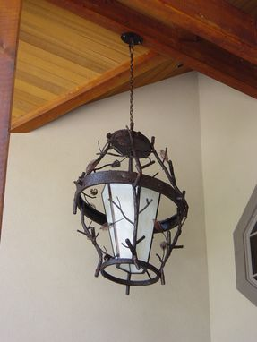 Custom Made Mountain Contemporary Chandalier