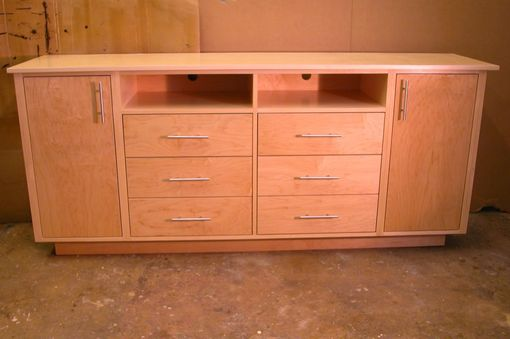 Custom Made Media Sideboard