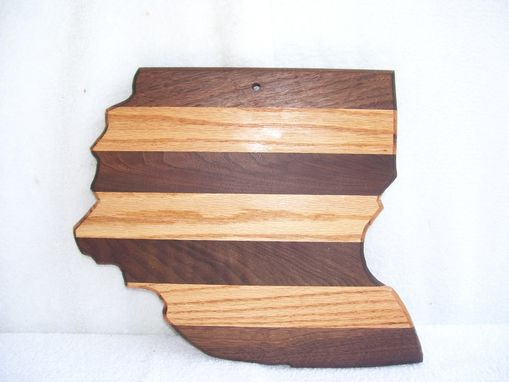 Custom Made Ohio Cutting Board Oak And Walnut
