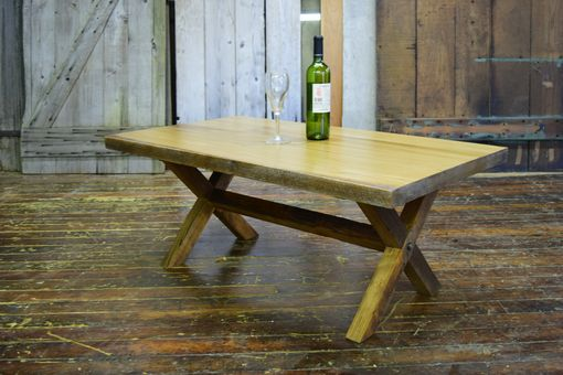 Custom Made Reclaimed Wood Country Style White Pine Dining/Coffee Tables