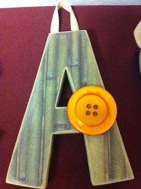 Custom Made Custom Wood Letter Set--4 Letters