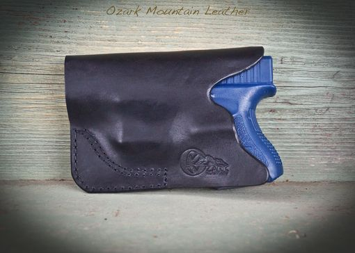 Custom Made Wallet/Billfold Leather Holster