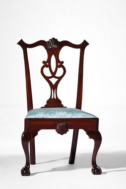 Custom Made Philadelphia Chippendale Chair