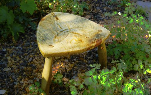 Custom Made Garden Or Child's Stool