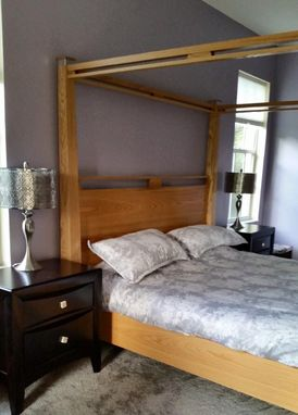 Custom Made Custom Four Poster King Bed