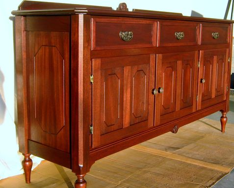 Custom Made Antique Reproduction Credenza