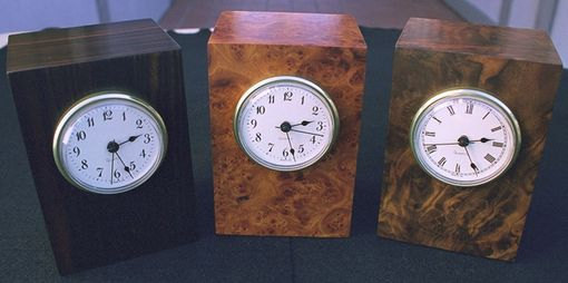 Custom Made Desk Top Clocks