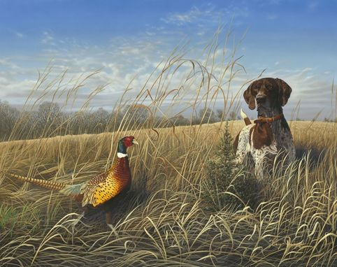 Custom Made Iowa Pheasants Forever Print Of The Year