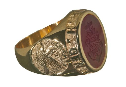 Custom Made Association Ring For Clubs And Companies