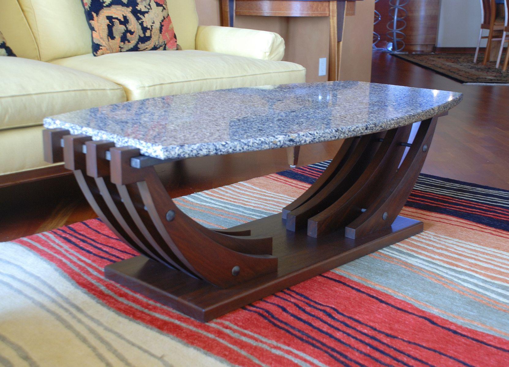 hand crafted coffee table by third street studios custommade com