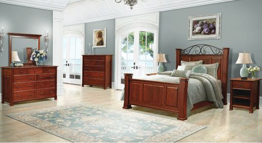 Custom Made Wrought Iron Bedroom Suite