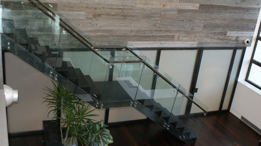 Custom Made Img Stairs And Pivoting Wall /Doors