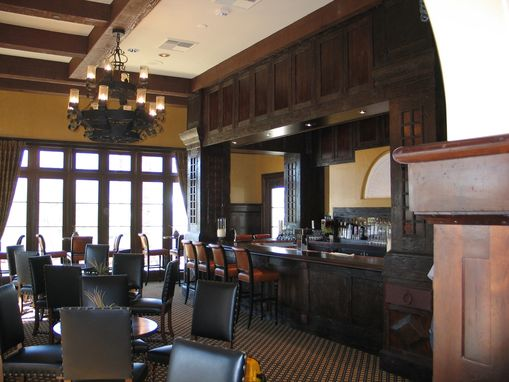 Custom Made Country Club Bar And Club House Interior Woodwork