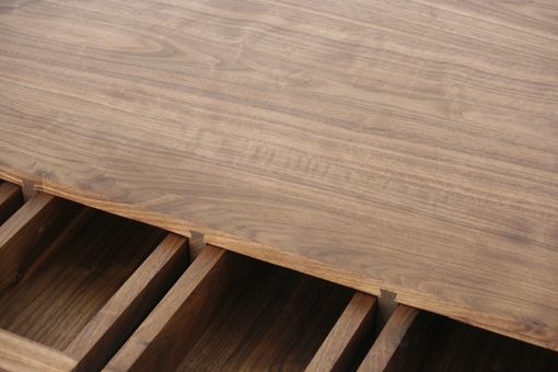 Custom Made Parsons Desk | American Black Walnut