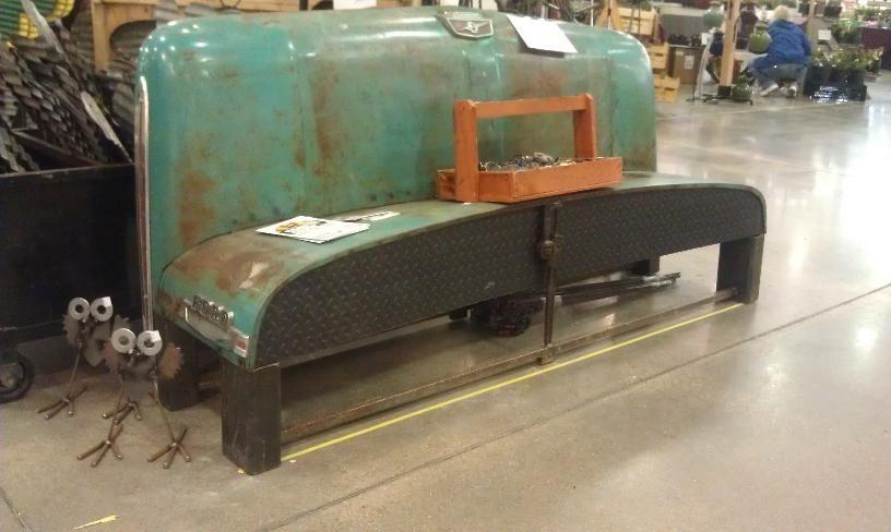 Custom 1964 Ford Truck Hood Bench By Junkfx Custommade Com