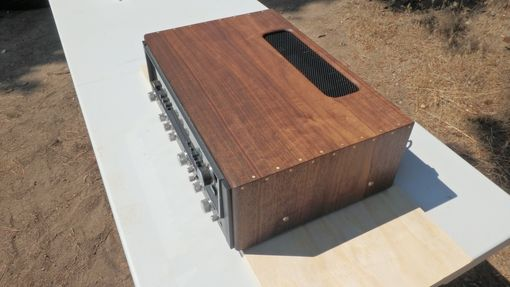 Custom Made Custom Enclosure For Vintage Receiver