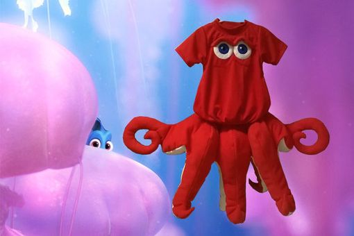 Custom Made Hank The Septopus -- Disney's Finding Dory Movie.