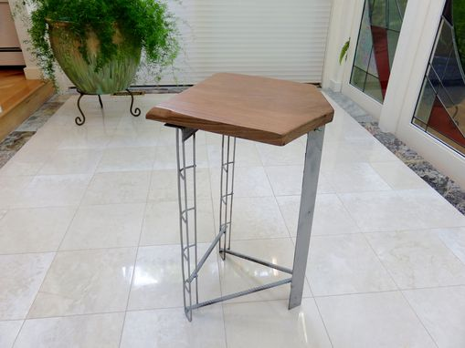 Custom Made Modern-Industrial Bar Stool