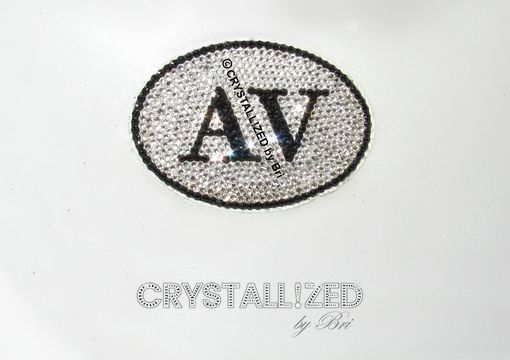 Custom Made Crystallized Custom Car Decal Made With Swarovski Crystals