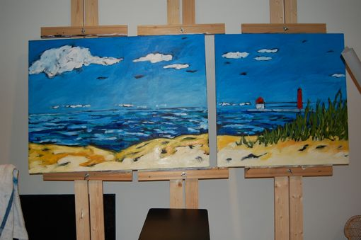 Custom Made Commission Painting For The Holland Hospital, Michigan