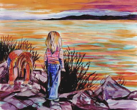 Custom Made Custom Watercolor Painting For Your Home, Cottage, Office Or Cabin