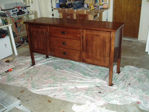 Custom Made Dining Room Side Board (Buffet)