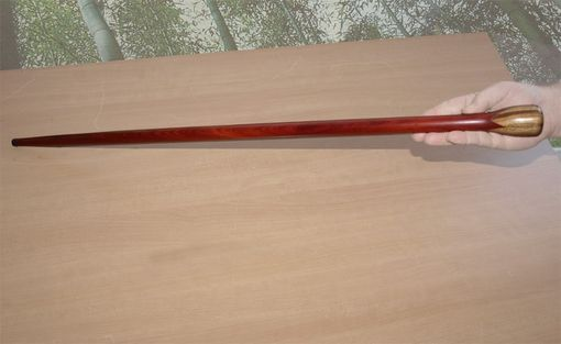 Custom Made Bloodwood And Zebrawood Walking Cane