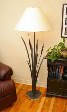 Custom Made Wetlands Floor Lamp