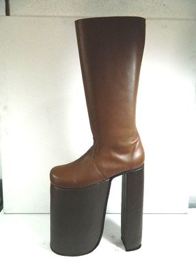Custom Made Glam 70s Rock 12 Inches Platform Glam Boots This Is High Made To Order Choose Height Size And Color
