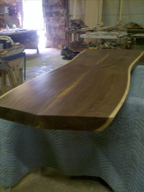 Custom Made Bookmatched Walnut Slab
