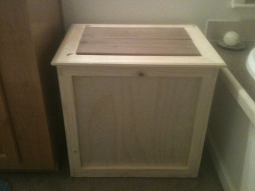 Custom Made Hamper / Storage Bin