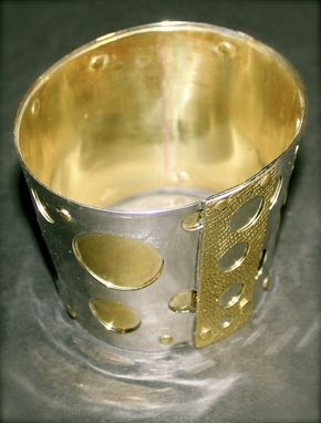 Custom Made Couture Fire Bangle