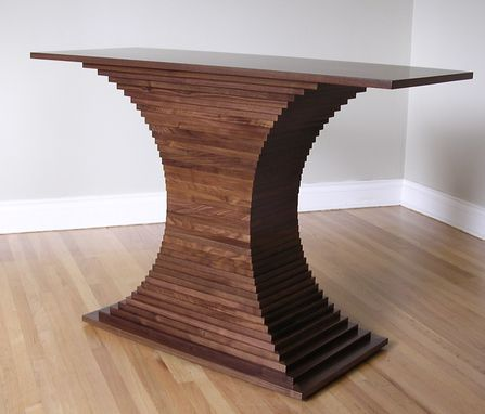 Custom Made Stepped Console Table