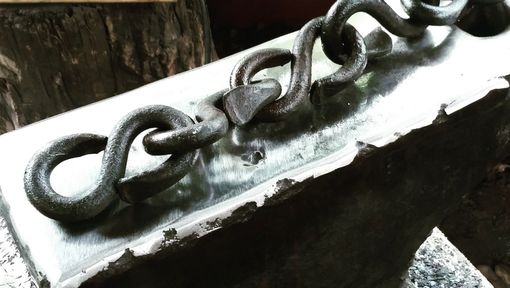 Custom Made Hand Forged 'S' Hook Chain