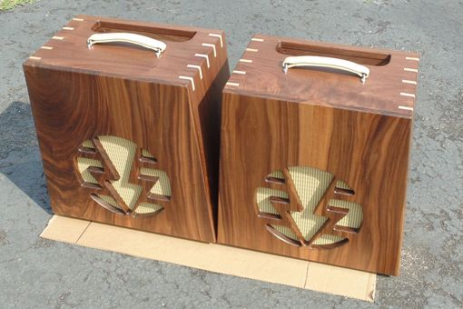 Handmade Solid Walnut Guitar Amplifier Housing (1 Of 2) by Insight