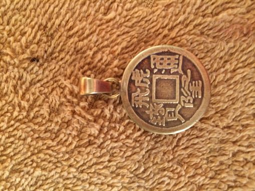 Custom Made Chinese Coin Pendant - Chinese Jewelry