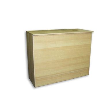 Custom Made Maple Flat Top Sales Counter