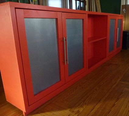 Custom Made Storage Cabinet
