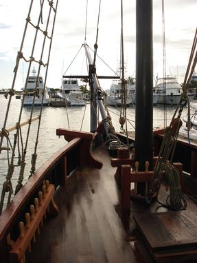 Hand Made Pirate Ship By Langston Custommade Com