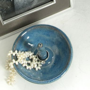 Custom Made Jewelry Bowl In Blue-Green