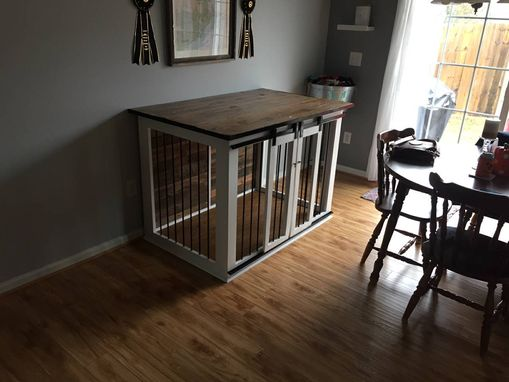 Custom Made Wooden Dog Kennel