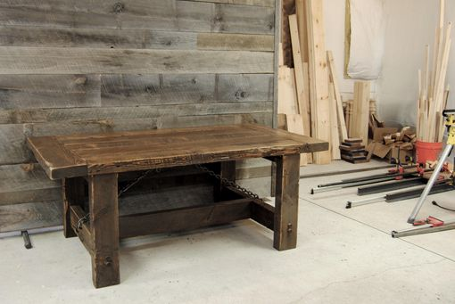 Custom Made Authentic Reclaimed Industrial Farm Table - Stunning!
