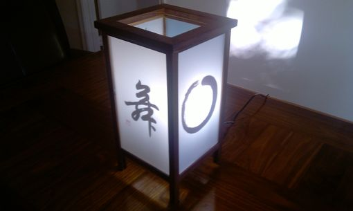 Custom Made Zen Japanese Lamp