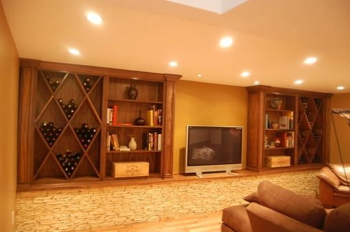 Custom Made Wine Racks And Book Shelves