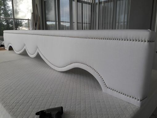 Custom Made Upholstered Cornice