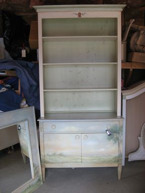 Custom Made Classic Two Piece Hutch